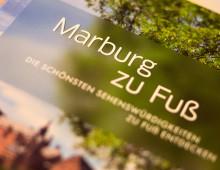 Marburg zu Fuß – Reiseführer